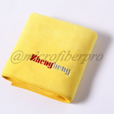 weft with hair towel