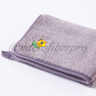 composited coral fleece towel